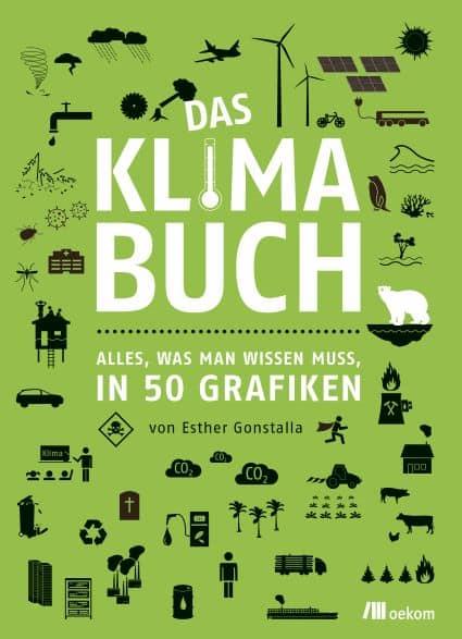 """""""Das Klimabuch – Alles, was man wissen muss, in 50 Grafiken"""" von Esther Gonstalla"""