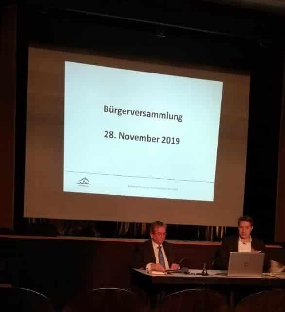 Bürgerversammlung Homberg 28.11.2019
