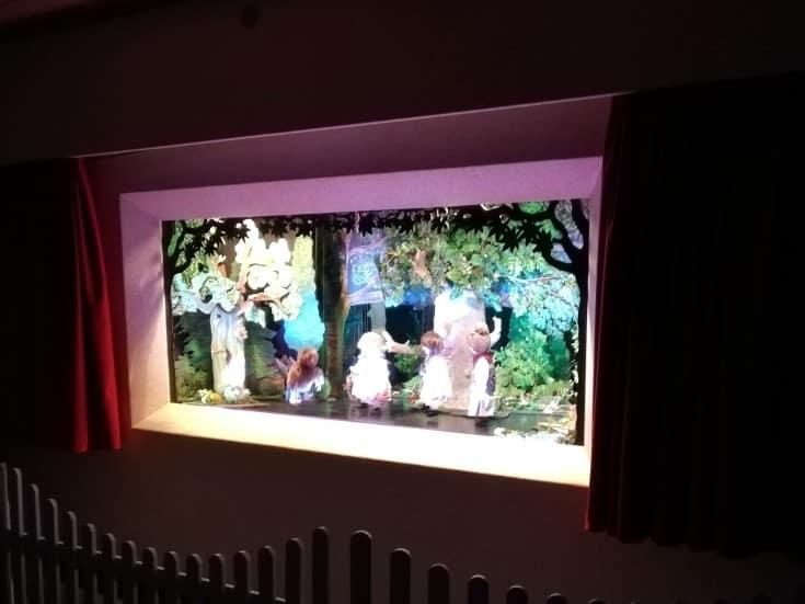 """""""Schneeweißchen und Rosenrot"""", Marionettentheater Wernswig am 14.12.2019"""