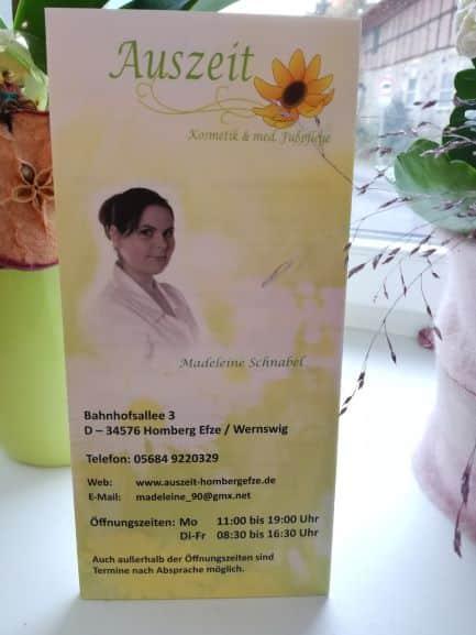 """Wellnessmassage """"Auszeit"""" bei Madeleine Johanik"""