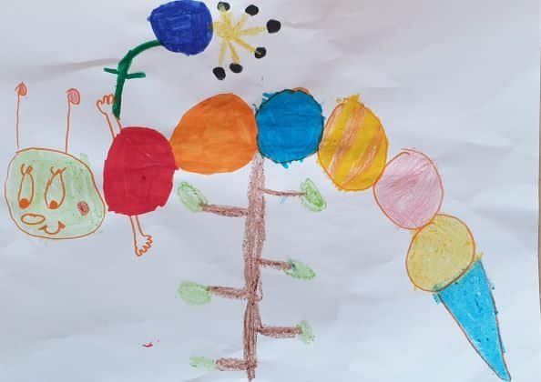 2. Platz Malwettbewerb 2020 (Kinder): Mia, 5 Jahre