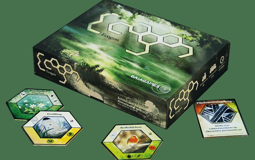 """Spielbewertung """"Ecogon"""" von Gaiagames"""