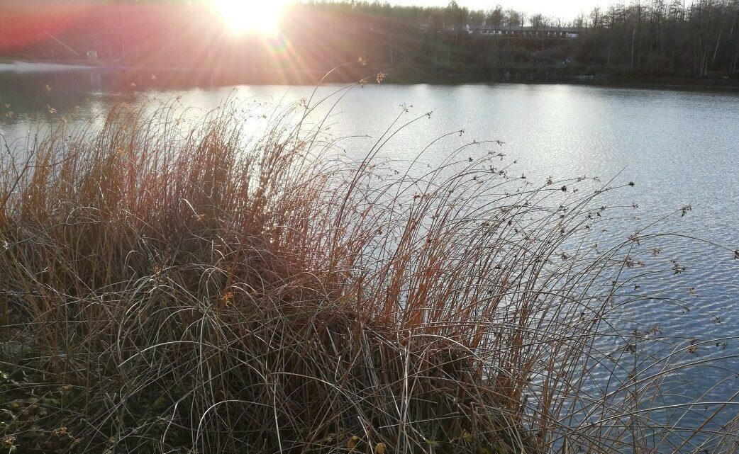 …still und starr ruht der See…?